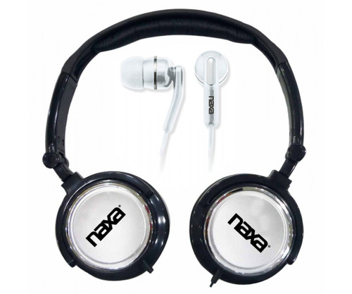Naxa DJ Z Ultra headset combo kit BLACK
