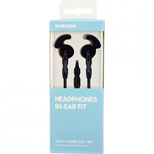 Samsung In Ear Fit Headphones with Hybrid Ear Tips Black