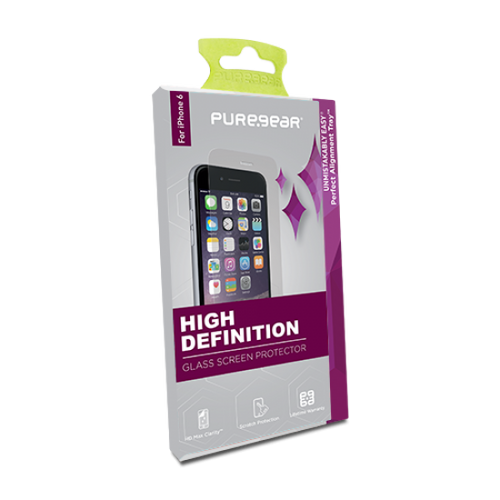 PureGear HD Clarity Tempered Glass Screen Protector Curved Samung S8 (with Installation Tray)