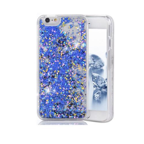 Liquid Glitter Case for Samsung Galaxy S8 Plus Blue