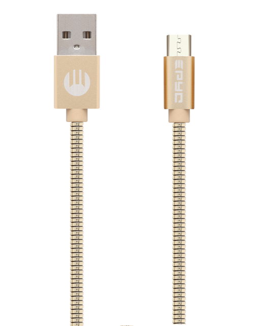 Epyc metal series usb to micro usb Gold