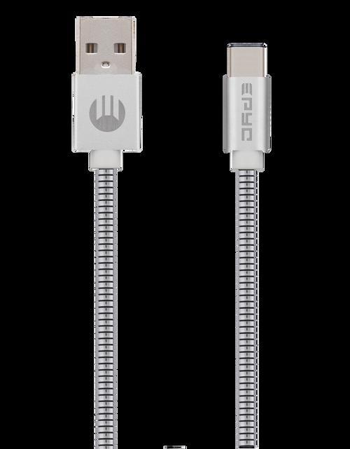 Epyc metal series usb to Type C Silver