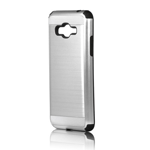 Hard Pod Hybrid Case for S8 plus Silver