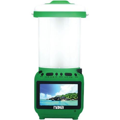 Naxa portable utility lantern with tv