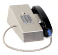 Ceeco MHD-341-Fr1, Magnetic Hookswitch Desk Telephone w/ Chrome Dial