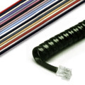 6ft Modular Handset Coil Cord (4 Conductor)