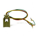 623-D4, Female Line Cord Jack/Connector for 2500 Style Phone (4 COND)