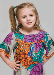 Passaro Little Girl Dress