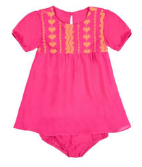 Hibisco Baby Dress