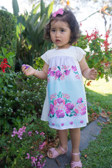 Flower white off Baby Dress