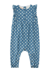 Polka Dot Baby Jumpsuit