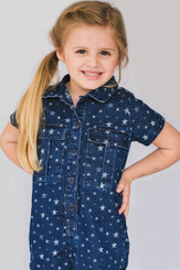 Little Girl Star Jumpsuit