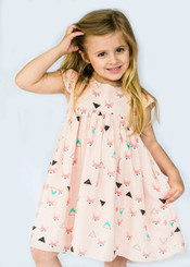 Fox Little Girl Dress