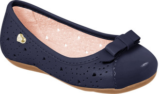 Cutout Ballet Flat Shoes - Girl
