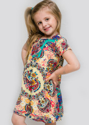 Canela Little Girl Dress