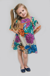 Passaro Girl Dress