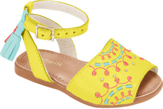 Embroidered Avarca Shoes  - Baby