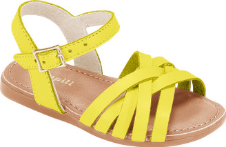 Larinha Strap Leather Shoes - Girl