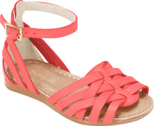 Lara Straps Leather Sandals - Baby