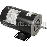 Waterway Center Discharge Spa Pump AOS Motor 48FR 1.5HP Sgl Spd 115/230V BN-35SS