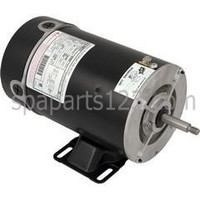 Waterway Center Discharge Spa Pump AOS Motor 48FR 1.0HP Sgl Spd 115V BN-25SS