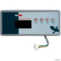 4 Button, BDLTSC19GE2 Gecko Topside, TSC-19, 2 Pump, LED