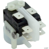 Tinytrol, DPDT, Spa Air Switch Momentary , Side Spout, TRM-211A