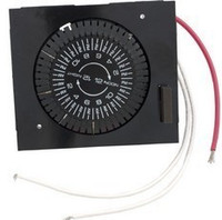 Intermatic Spa Time Clock, Spa Timer, Mech, Panel Mount Horizontal 120 VAC ( E1020-M20 ) **Discontinued**