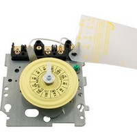 Intermatic Spa Time Clock, Spa Timer, Mech DPST 240v 24hr Yellow Dial ( T104M )