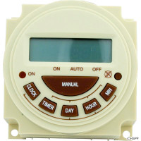 Intermatic Spa Time Clock, Spa Timer, Electric, 7 Day, SPST 20A 240V ( PB374E )