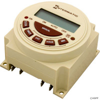 Intermatic Spa Time Clock, Spa Timer, Electric, 7 Day, SPST 20A 120V ( PB373EB )