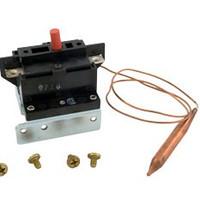 """Double Pole Spa Heater Hi Limit DPST 40A 5/16""""x18"""" Capillary"""