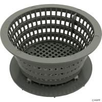 Spa Filter Basket, Dyna-Flo Skimmer Low Profile Basket Assy Gray
