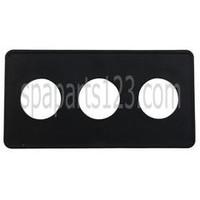 Spa #15 3-Button Panel Deckplate