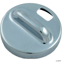 "Hydro-Air Slimline Air Control 1/2"" Escutcheon, Polished Chrome"