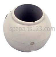 Spa Jet Eyeball with Retaining Ring, White-Beige-Bone-Brown **DISCONTINUED-NO REPLACEMENT**