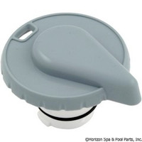 "Hydro-Air Slimline Tear Drop Air Control, 1"" Stem Assy, [Grey,White]"
