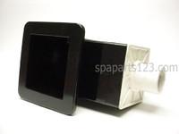 PLU21600020 Cal Spa SKIMMER, SMALL, WEIR, BLACK