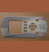 PDC Spas Topside Control Inlay 1