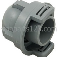 Magnaflo Spa Jet Eyeball And Cage Assy, White-Gray (1994-1996)