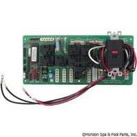 L.A. Spas Circuit Board (14 Relay), 11/29 Function P1, P2 (Ribbon Cable) (SR-11031-38) MEI-038-900, SR-11031**DISCONTINUED**