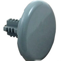 Lo Pro Air Injector Thd Cap Only, Gray (2 Pack)