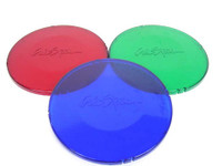 "LIT16200040 CAL SPAS LENS COVER 6"" DIAMETER, SET OF 3(BLUE,RED,GREEN)"