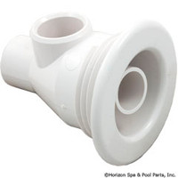 "Jacuzzi Jet, BMH, White, Less Nut 2"" Hole"
