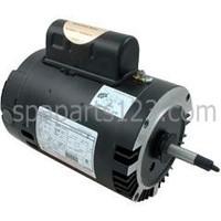 Jacuzzi Cygnet Spa Pump Motor C-Face Thd 1.0HP Sgl Spd 115/230V B128