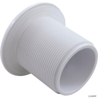 Hydro Air Spa Jet  Standard Long Wall Fitting Complete/Less Nut, White-Brown 10-3600(4)