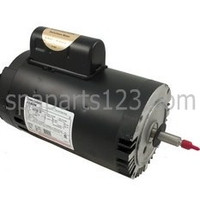 Jacuzzi Cygnet Spa Pump Motor C-Face Thd 2.0HP Sgl Spd 115/230V B836