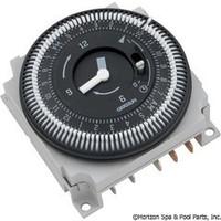 Grasslin 24hr Spa Time Clock, Spa Timer, 120v, W/override ( FM/1STUZH-120V )