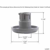 Euro Cluster Jet, Adj, Scallop Jet  Controller - Gray(6)
