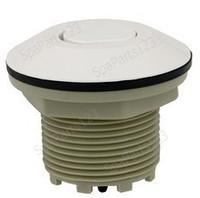 Spa Air Button, Contemporary Flush Button, White